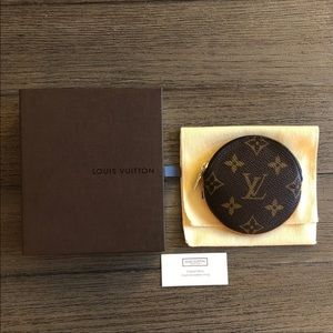 Louis Vuitton Round Coin Purse